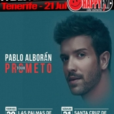 Pablo Alborán de concierto en Tenerife