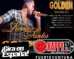 Romeo Santos anuncia gira por nuestro país