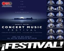 Pablo López, David Bisbal, Rozalén y Dani Martín son algunos de los artistas confirmados para el Sancti Petri Concert Music Festival