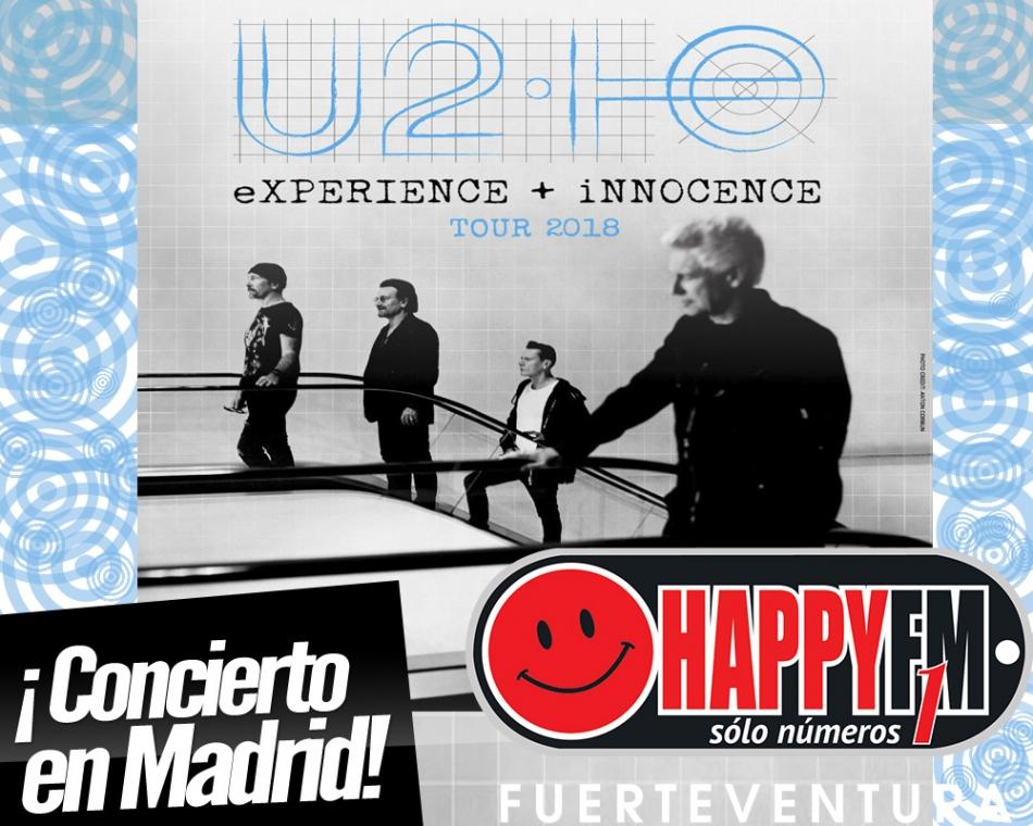 U2 anuncia concierto en Madrid