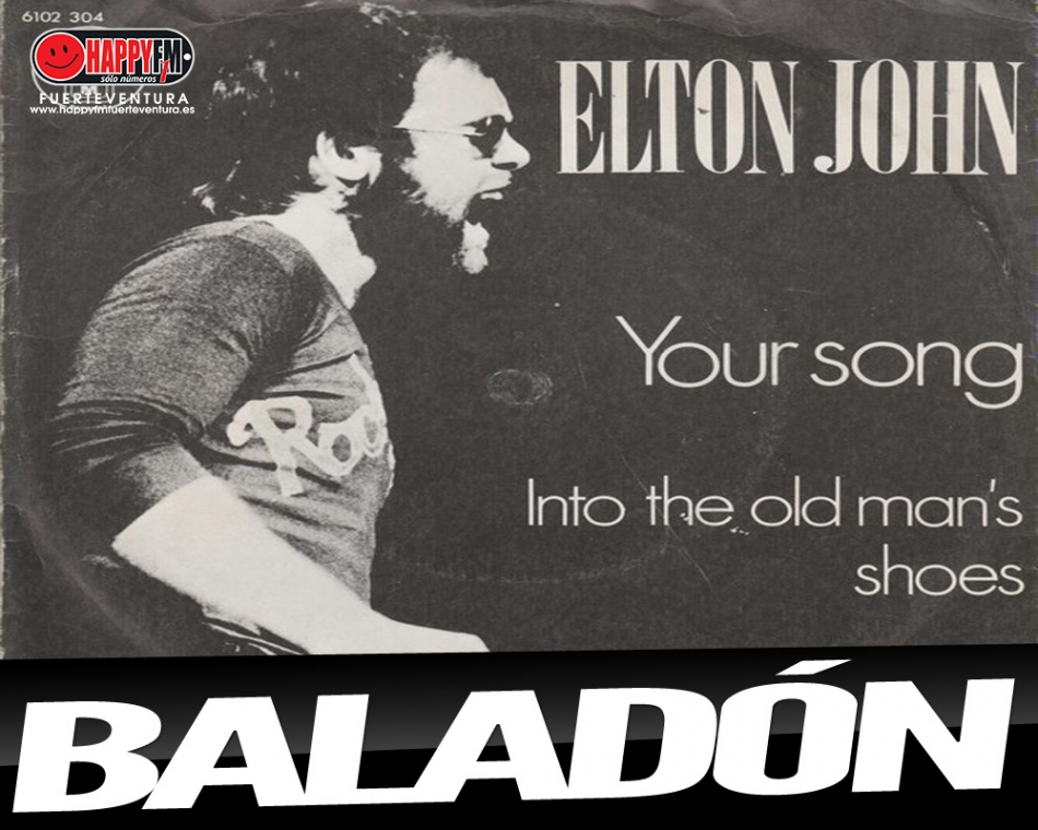 """Nos ponemos románticos con """"Your Song"""", de Elton John"""