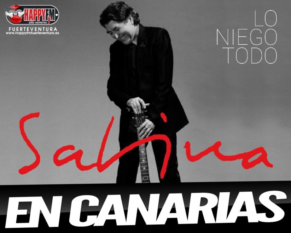 Conciertos de Joaquín Sabina en Tenerife, La Palma y Gran Canaria