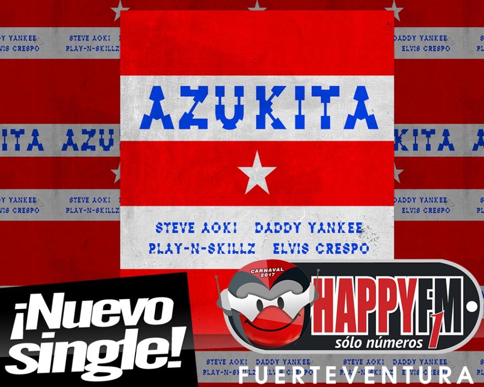 """Entramos en calor al ritmo de """"Azukita"""", lo nuevo de Steve Aoki, Daddy Yankee y Elvis Crespo"""