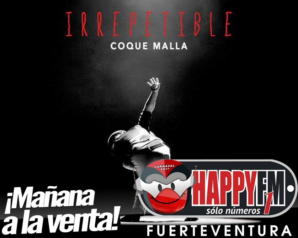 Mañana se pone a la venta Irrepetible, el nuevo disco de Coque Malla