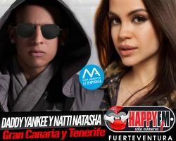 Daddy Yankee y Natti Natasha juntos en Gran Canaria y Tenerife