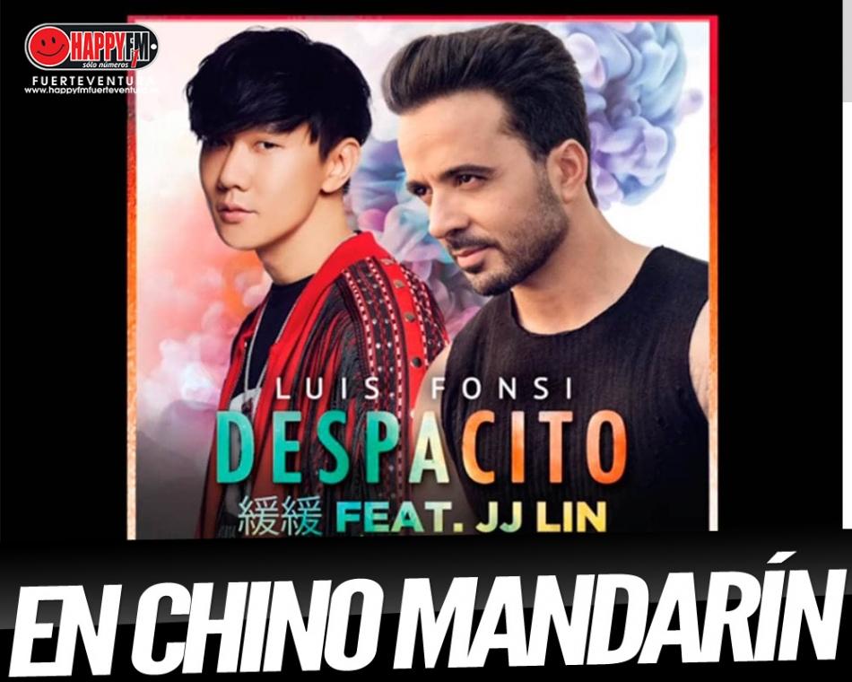 """¿Has escuchado la versión de """"Despacito"""" en chino mandarín?"""