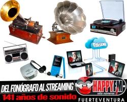 Del Fonógrafo al Streaming…141 años de sonido y un inventor, Thomas Alva Edison