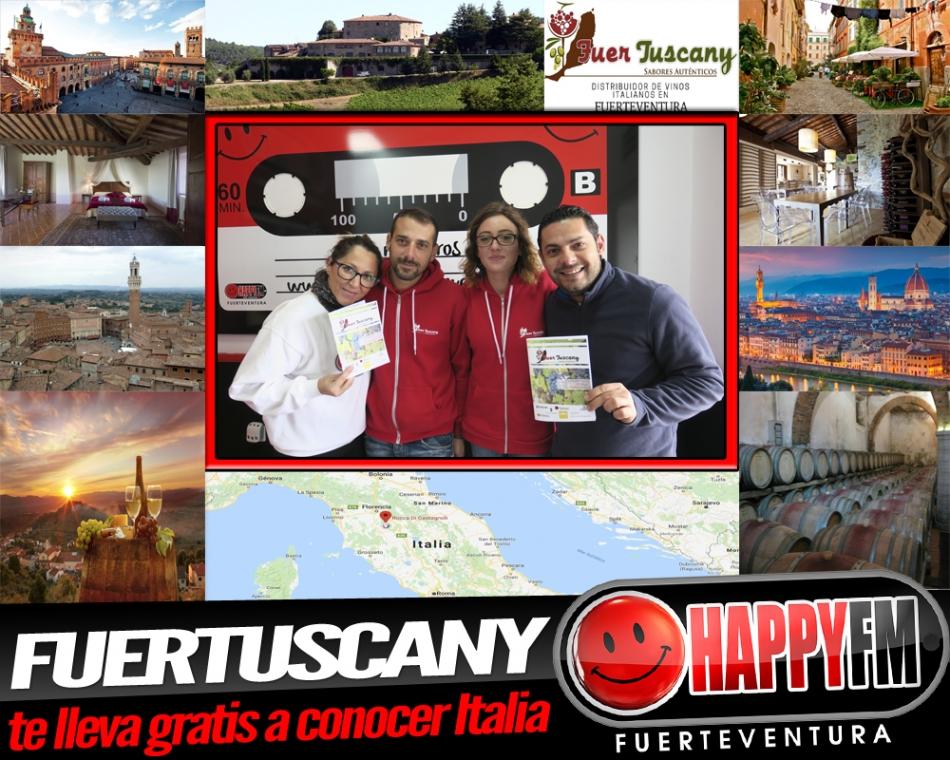 Fuertuscany te lleva gratis a conocer Italia…¿Qué tienes que hacer?