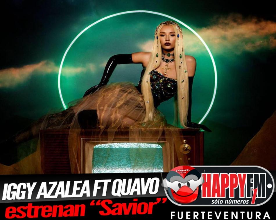 """""""Savior"""" es lo nuevo de Iggy Azalea ft Quavo."""