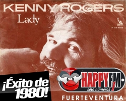 """Recordamos a Kenny Rogers con su tema """"Lady"""""""