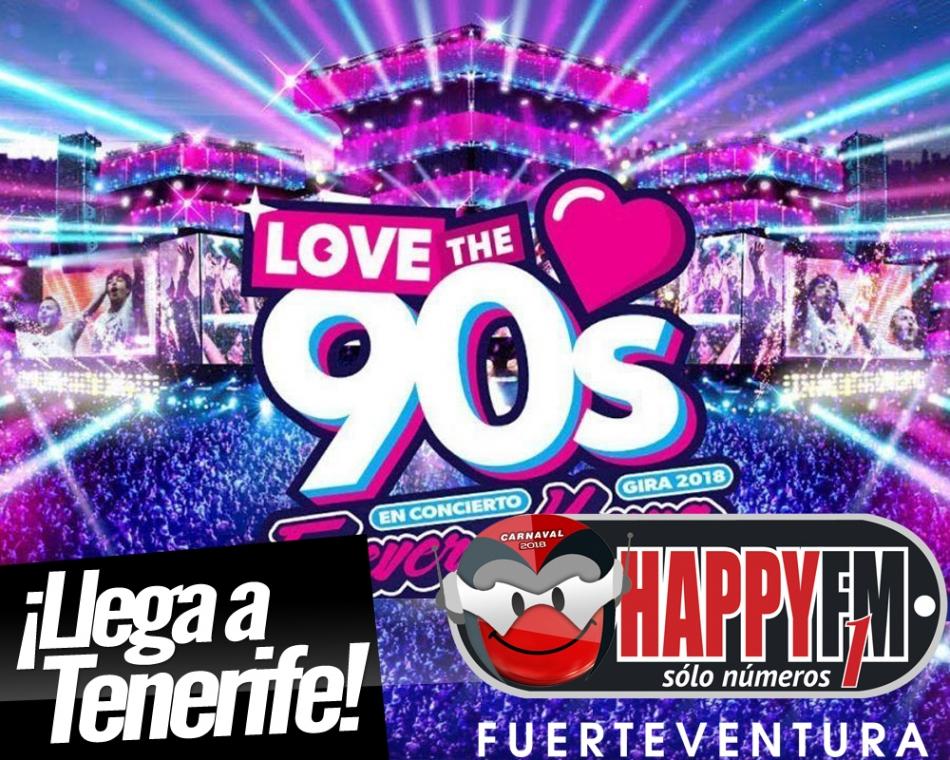 """Llega a Tenerife el """"Love The 90's Festival"""""""