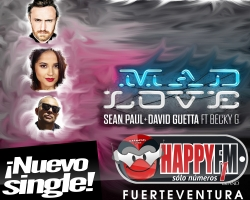 """""""Mad Love"""" es lo  nuevo de Sean Paul junto a David Guetta y Becky G"""
