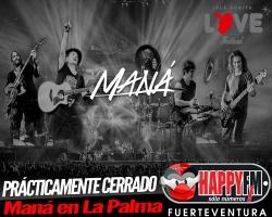Prácticamente cerrada la contratación de Maná para el Isla Bonita Love Festival 2018