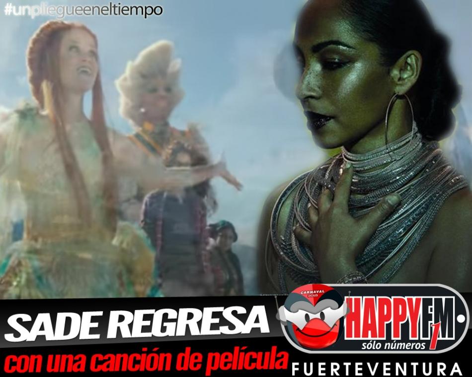 """Sade regresa con """"Flower Of The Universe"""", un tema de película"""