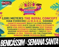 San San Festival 2018, Semana Santa en Benicássim