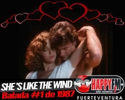 """""""She's Like The Wind"""" en el día internacional del amor"""