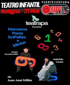 teatroinfantil_numerosimpareseidiotas_antigua_happyfmfuerteventura