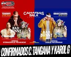 C. Tangana y Karol G se suman al festival Canarias Baila