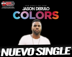 "Jason Derulo estrena el single ""Colors"""