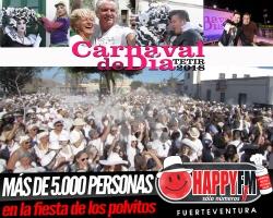 Más de 5.000 personas en el Carnaval de Día de Tetir 2018