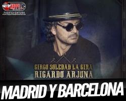 Conciertos de Ricardo Arjona en Madrid y Barcelona