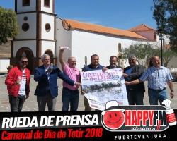 Rueda de prensa del Carnaval de Día de Tetir 2018