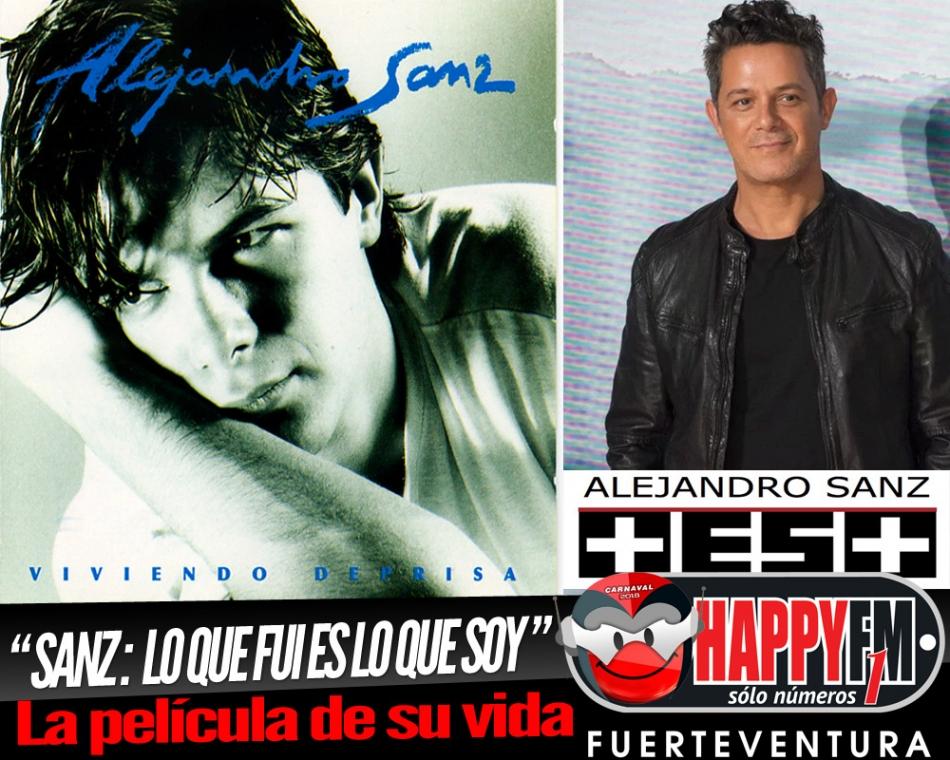 """""""Sanz: Lo Que Fui Es Lo Que Soy"""" la película sobre la vida de Alejandro Sanz"""