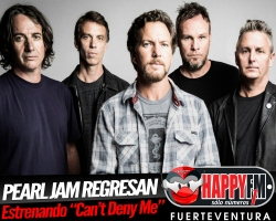 "Pearl Jam regresan con ""Can't Deny Me"""