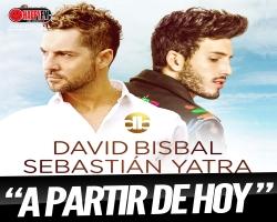 """""""A Partir de Hoy"""" puedes escuchar a David Bisbal y Sebastian Yatra en su nuevo single"""