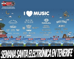 I Love Music, festival de música electrónica en Tenerife