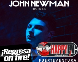 """""""Fire In Me"""" es el regreso de John Newman"""
