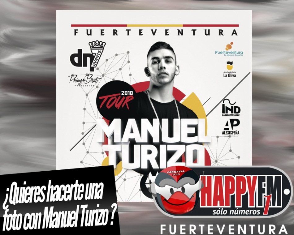 ¿Quieres hacerte una foto con Manuel Turizo?