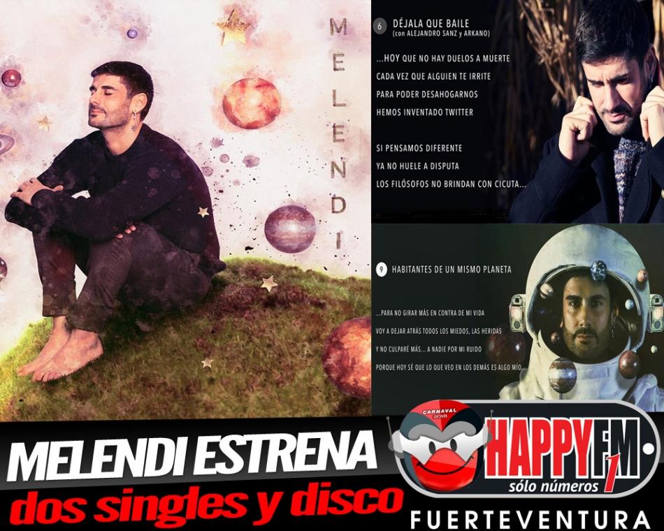 """Melendi estrena singles y publica disco """"Ahora"""""""