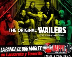 The Original Wailers, la banda de Bob Marley de concierto en Lanzarote y Tenerife