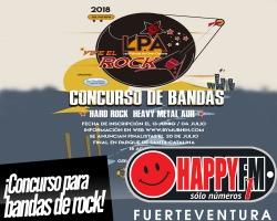 Vive el Rock LPA, concurso de bandas de rock en Gran Canaria