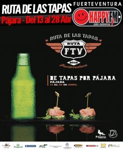 RUTADELASTAPAS_PAJARA_DEL13AL28ABR_HAPPYFMFUERTEVENTURA