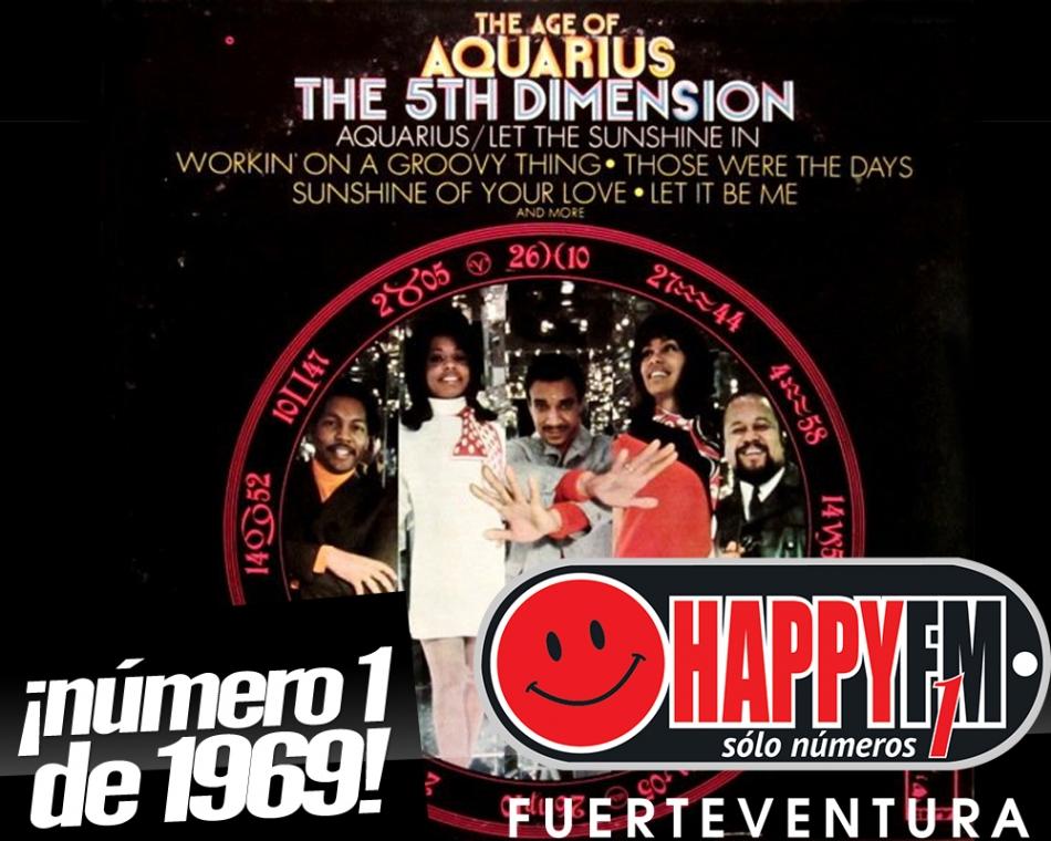 """""""Aquarius"""", número uno en Abril de 1969"""
