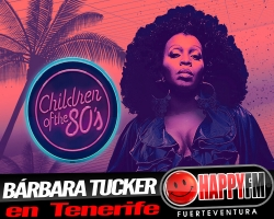 Bárbara Tucker llegará a Tenerife en Mayo
