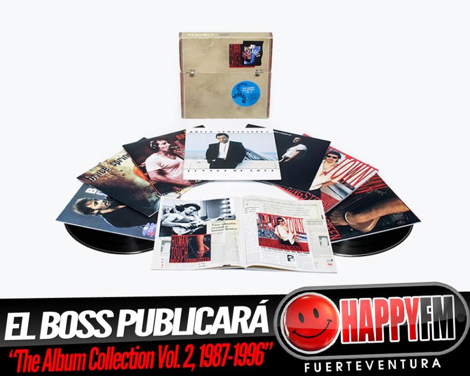 Bruce Springsteen anuncia caja de vinilos 1987-1996