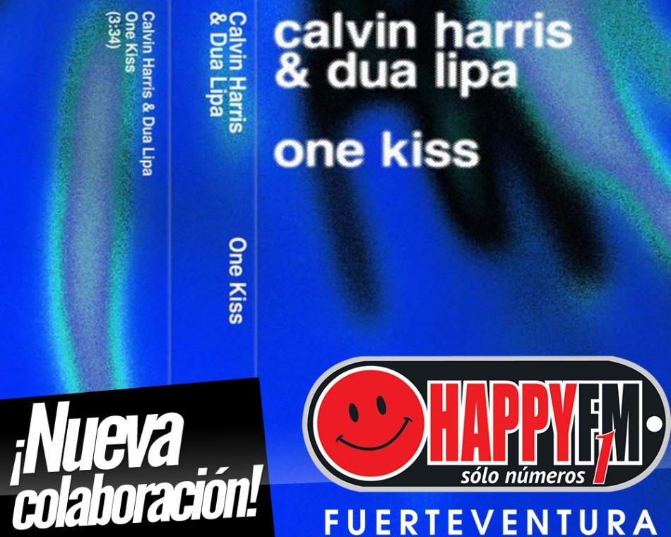 """""""One Kiss"""" es la nueva colaboración de Calvin Harris y Dua Lipa"""