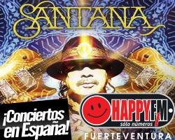 Carlos Santana ofrecerá 3 conciertos únicos en nuestro país