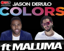 "Jason Derulo estrena la versión spanglish de ""Colors"" ft Maluma"
