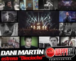 """Dani Martín presenta el single aniversario """"Dieciocho"""""""