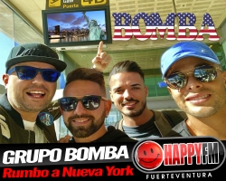 Grupo Bomba se marcha a Nueva York
