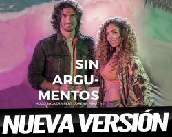"""Hugo Salazar estrena una nueva versión del tema """"Sin Argumentos"""" junto a Lorena Pinot"""