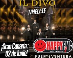 Único concierto de Il Divo en Gran Canaria