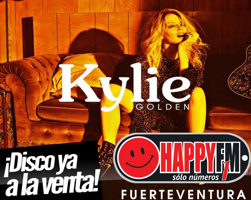 """Ya disponible """"Golden"""", el nuevo disco de Kylie Minogue"""