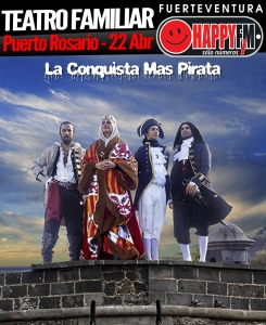 laconquistamaspirata_puertorosario_happyfmfuerteventura