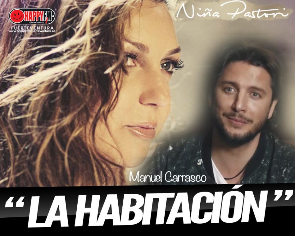 Niña Pastori estrena una nueva versión de 'La habitación' junto a Manuel Carrasco