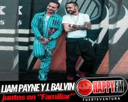 """Liam Payne y J. Balvin juntos en """"Familiar"""""""